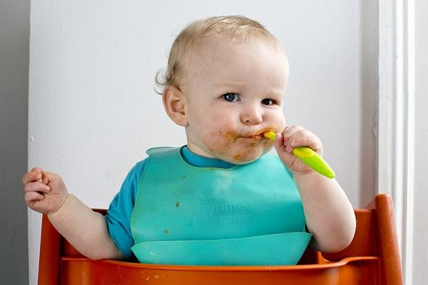 Baby food grows organically